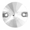 Crystal Sew-on Stone Round 14mm (3pcs) Crystal